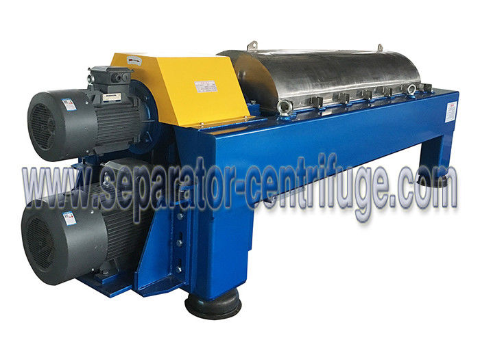 PDC Solid Bowl Wastewater Treatment Plant Equipment, Decanter Centrifuge For Waste Sludge