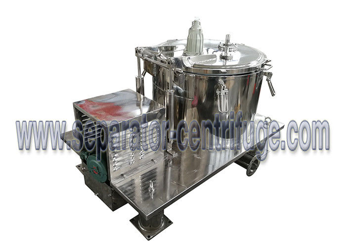 Batch Operate Food Centrifuge PPBL Bag Lifting Soya Meal Centrifuge Basket Centrifuge